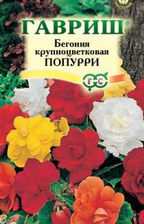 Семена Бегония Попурри смесь 5шт