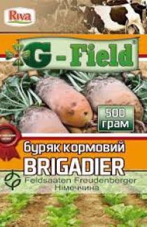Семена свеклы кормовой Бригадир оранжевая 1 кг