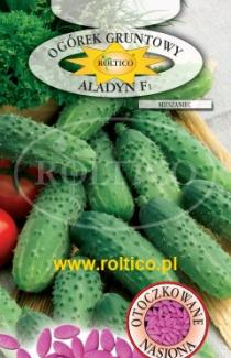 Семена огурца Аладин F1 50 шт (Roltiko Польша)