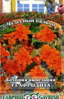 Семена Бегония  ампельная  Афродита 5 шт