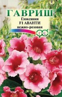Семена Глоксиния  Аванти  нежно-розовая 5шт