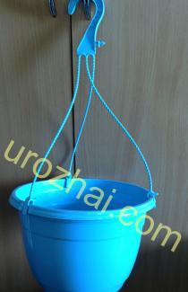 """Пластиковые гopшки """"TEKU""""  MAL25+MH38 c подвеской. Цвет Голубой. НОВИНКА!!!"""