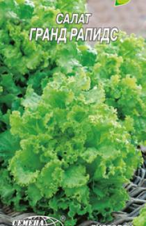 Семена салата Гранд рапидс 1г
