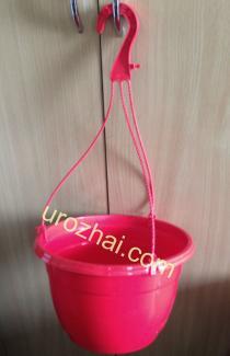 """Пластиковые гopшки """"TEKU""""  MAL25+MH38 c подвеской. Цвет Красный. НОВИНКА!!!"""