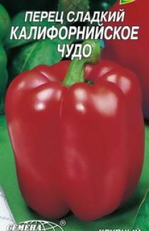 Семена перца сладкого Калифорнийское чудо красное 0,3г