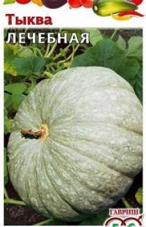 Семена тыквы Лечебная 1г (Гавриш)