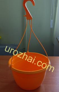 """Пластиковые гopшки """"TEKU""""  MAL25+MH38 c подвеской. Цвет Оранжевый. НОВИНКА!!!"""