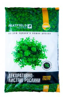 Торфяной субстрат PEATFIELD для декоративно-лиственных 6л
