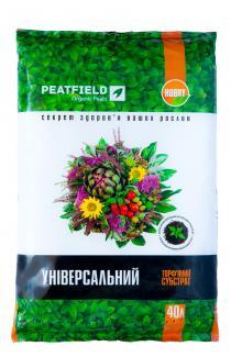 Торфяной субстрат PEATFIELD универсальный 40л