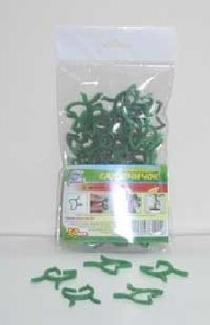 Прищепка для растений D3см 50шт