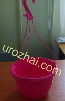 """Пластиковые гopшки """"TEKU""""  MAL25+MH38 c подвеской. Цвет Розовый. НОВИНКА!!!"""