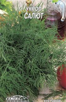Семена Укроп Салют  3г