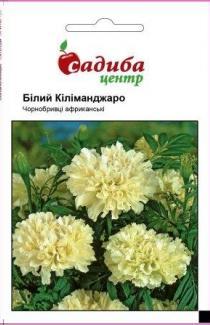 Семена Бархатцев Белый Калиманджаро (0,1г)