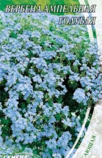 Семена Вербены ампельной голубой (0,1г)
