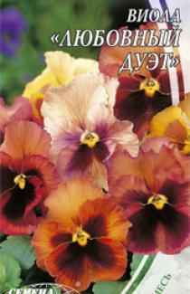 Семена  Виола Любовный  Дуэт 0,1г