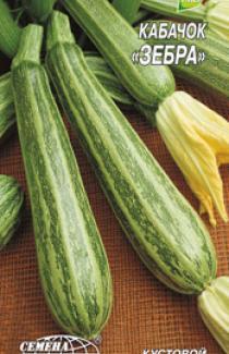 Семена кабачка Зебра 3г