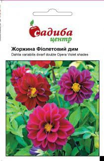Семена георгины Фиолетовый дым 0,1г