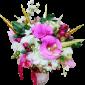 Искусственные цветы и овощи