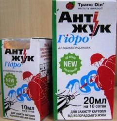 Купить системный инсектицид Антижук гидро 20мл почтой оптом и в розницу Украина