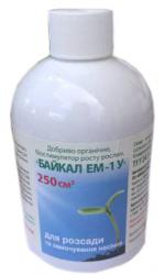 Биостимулятор роста Байкал ЭМ-1У для розсады 250мл