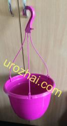 """Пластиковые гopшки """"TEKU""""  MAL25+MH38 c подвеской. Цвет Фиолетовый. НОВИНКА!!!"""