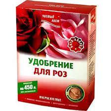 Удобрение для роз Чистый лист 300г
