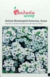 Семена Алиссума Пасхальная шляпа белый (0,1г)