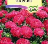 Семена Астры Зарево карликовая кармин 0,3 г