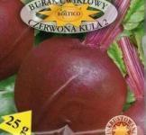 Семена свеклы столовой Красный шар 2 25г (Roltico Польша)