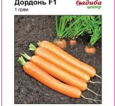 Семена моркови Дордонь F1 400шт (Syngenta Голландия)