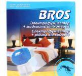 Электрофумигатор + жидкость против комаров 60 ночей Bros