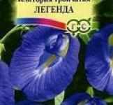 Семена Клиториия тройчастая  Легенда 2шт