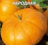 Семена тыквы Народная 20г