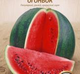 Семена арбуза Огонёк 10г