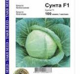 Семена капусты белокачанной Сунта F1 100шт (Takii Голландия)