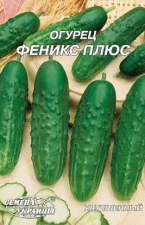 Насіння огірка Фенікс плюс 10г