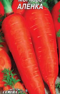 Насіння моркви Оленка (рс) 2г