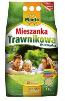 Насіння газонної трави Універсальна 2кг (Planta Польща)