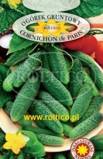 Насіння огірка Корнішон де Париж 5г (Roltiko Польща)