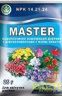 Мастер для цветущих растений 25г
