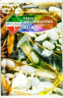 Насіння квасолі Ната 55г (Spojnia Польща)