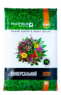 Торфяний субстрат PEATFIELD універсальний 40л