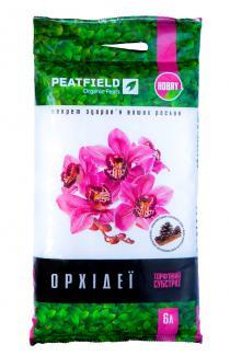 Торфяний субстрат PEATFIELD для орхідей 6л