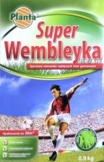 """Насіння газонної трави """"Super Wembleyka"""" 0,9кг (Planta Польща)"""