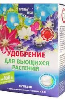Добриво для плетучих рослин Чистий лист 300г