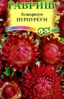 Насіння Геліхризум Пурпуреум 0,2г (ТМ Гавриш)