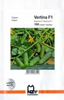 Насіння огірка Вертіна 100 шт