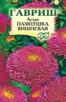 Насіння Айстри Пампушка вишнева (0,3г)