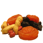 Сухофрукты, орехи, снеки