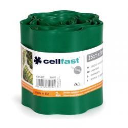 Бордюр газонный (зеленый) Cellfast 15смх9м